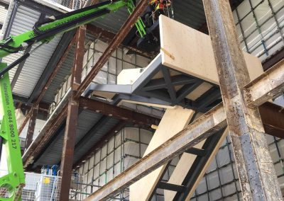 st katherines clt stairs install