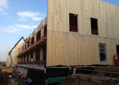 clt timber work